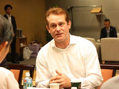 デービッド・アトキンソン理事著書が山本七平賞を受賞し記念講演・討論会を開催