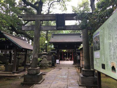 【事務局便り】東京赤坂の社寺仏閣について