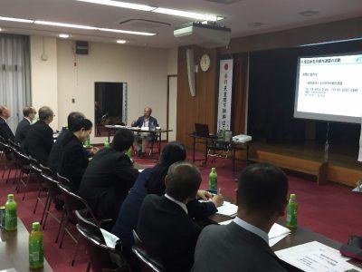 野田博明理事が広島県神社庁研修会にて講演